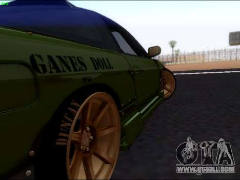Nissan 180sx Takahiro Kiato for GTA San Andreas right view
