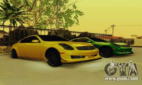 Infiniti G35 Hellaflush for GTA San Andreas
