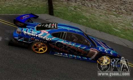 Nissan Silvia S15 Toyo Drift for GTA San Andreas inner view