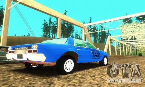 Fasthammer Taxi for GTA San Andreas right view