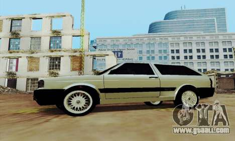 VW Parati GLS 1988 for GTA San Andreas left view