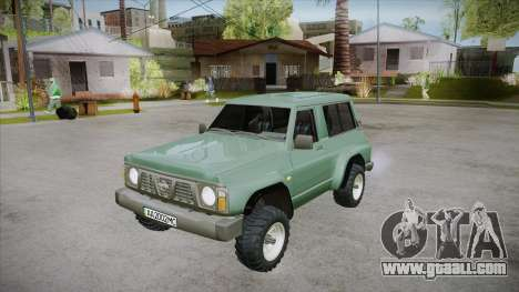 Nissan Patrol Y60 for GTA San Andreas engine