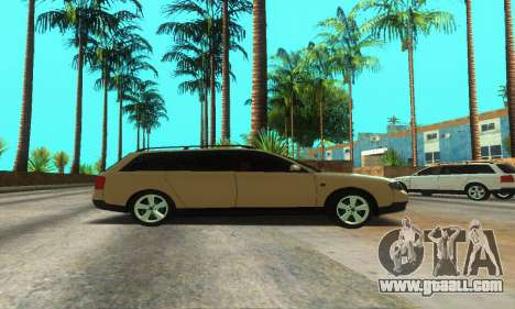 Audi A6 (C5) Avant for GTA San Andreas side view
