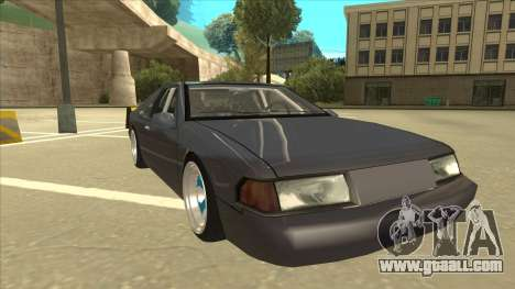 Fortune Drift for GTA San Andreas left view