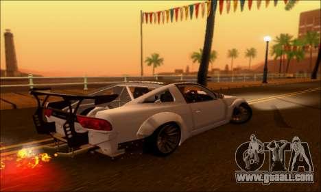 Nissan 380SX BenSopra for GTA San Andreas left view