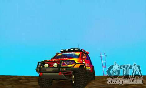 Uaz Patriot Trial for GTA San Andreas back left view