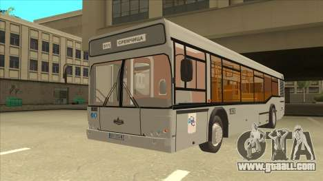 511 Sremcica Bus for GTA San Andreas