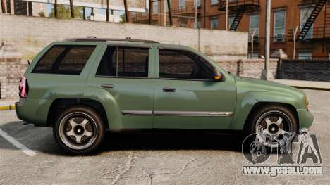 Chevrolet TrailBlazer SS 2008 for GTA 4 left view