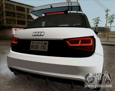 Audi A1 Clubsport Quattro for GTA San Andreas right view