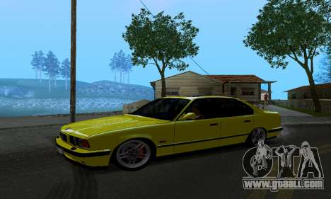 BMW M5 E34 IVLM v2.0.2 for GTA San Andreas left view