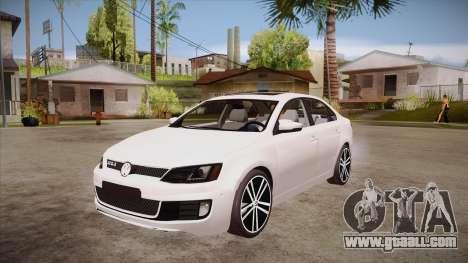 VW Jetta GLI 2013 for GTA San Andreas