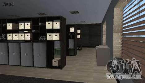 Retekstur the Interior of City Hall for GTA San Andreas seventh screenshot