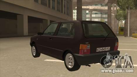 Yugo Uno 45 R 1994 for GTA San Andreas back view