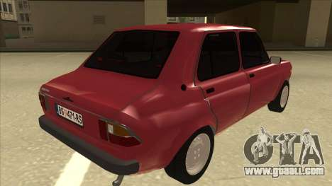 Zastava Skala 55 2013 for GTA San Andreas right view