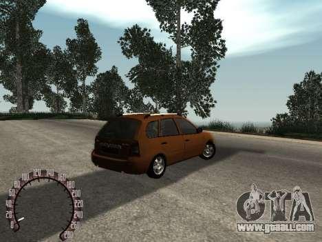 Lada 1117 Kalina for GTA San Andreas right view