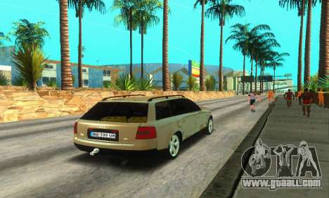 Audi A6 (C5) Avant for GTA San Andreas right view