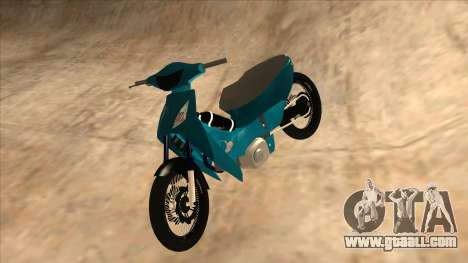 Honda 125cc Tuning for GTA San Andreas