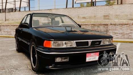 Mitsubishi Galant v2.0 for GTA 4