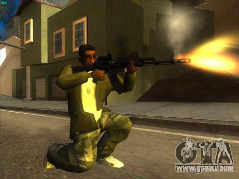 AK-103 for GTA San Andreas