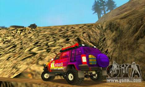 Uaz Patriot Trial for GTA San Andreas upper view