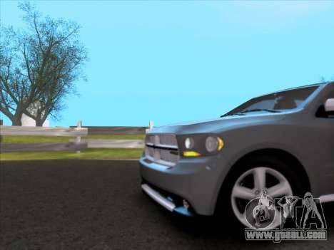 Dodge Durango Citadel 2013 for GTA San Andreas side view