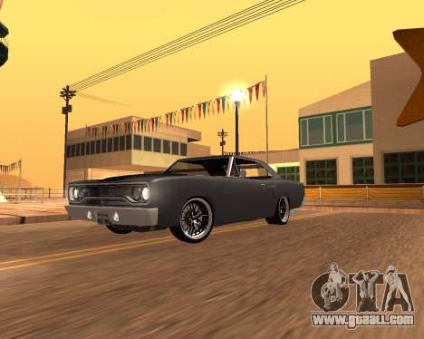 Plymouth Road Runner 1970 for GTA San Andreas