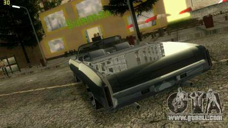 Chevy Monte Carlo for GTA Vice City right view