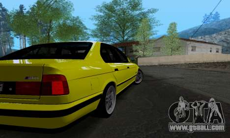 BMW M5 E34 IVLM v2.0.2 for GTA San Andreas right view