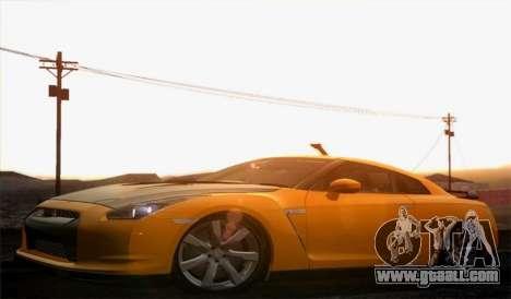 Nissan GT-R Carbon for GTA San Andreas