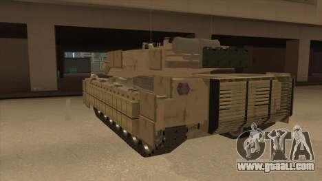 M69A2 Rhino Desierto for GTA San Andreas back view