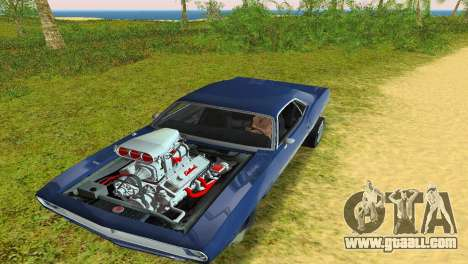 Plymouth Barracuda Supercharger for GTA Vice City