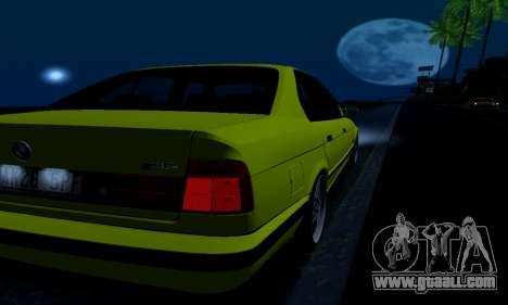BMW M5 E34 IVLM v2.0.2 for GTA San Andreas interior