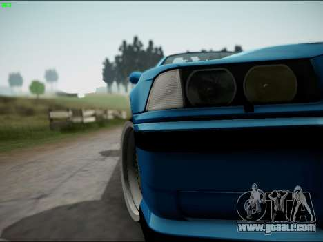 BMW M3 E36 Stance for GTA San Andreas upper view
