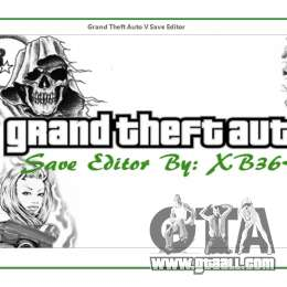 Grand Theft Auto V Save Editor by XB36Hazard for GTA 5