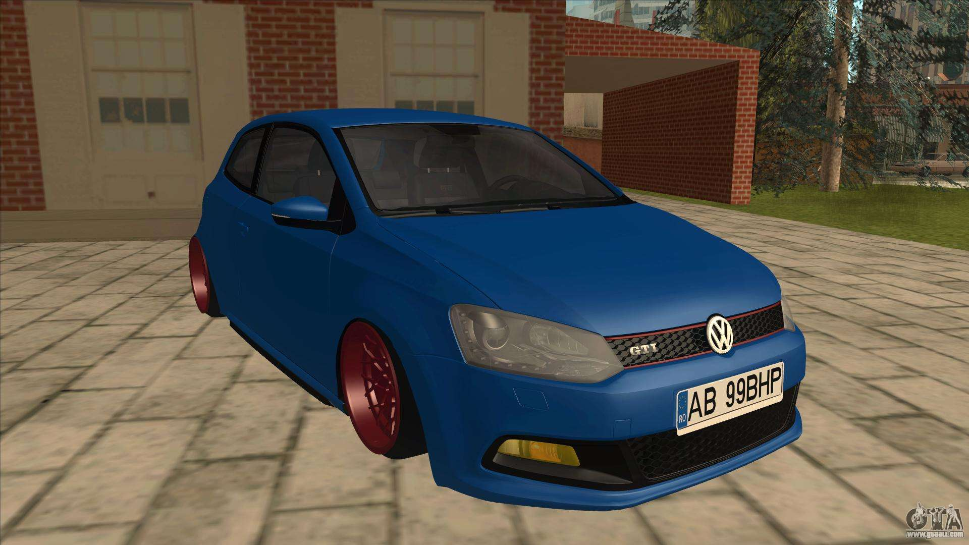 10 Passenger Vehicles >> Volkswagen Polo GTi Euro Stance 2012 for GTA San Andreas