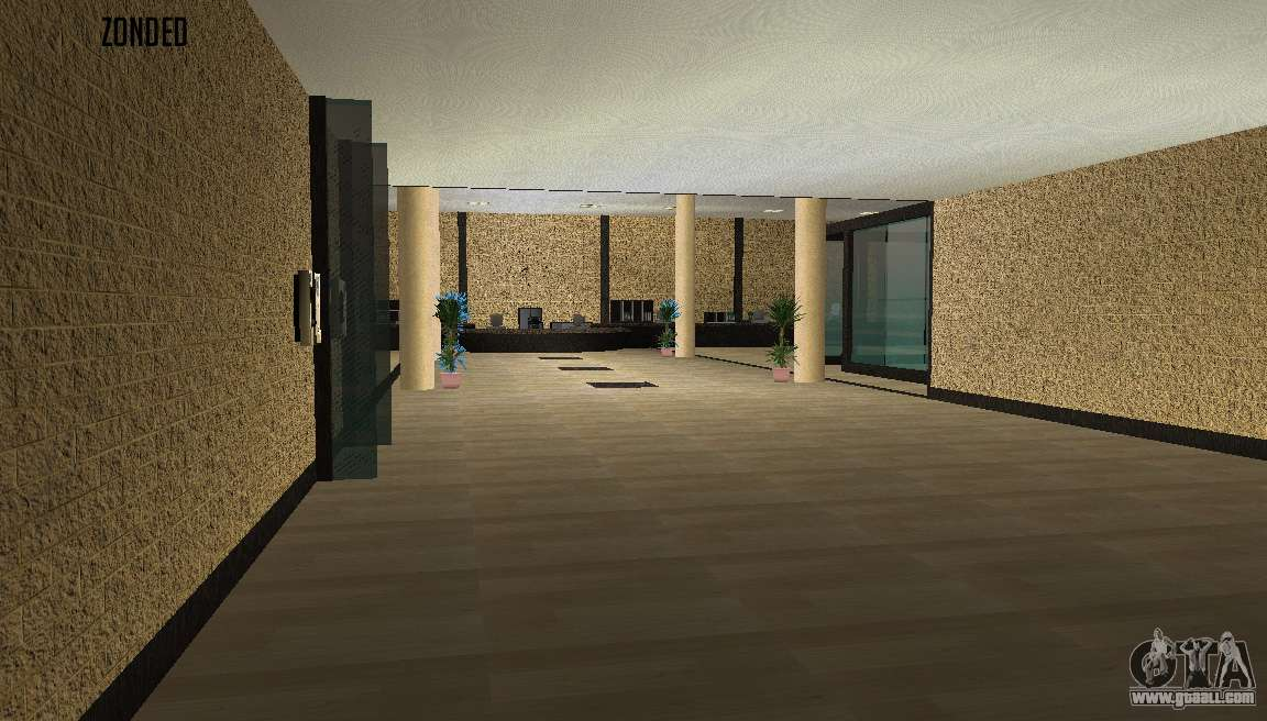 The Interior Of The Apartment For Gta San Andreas