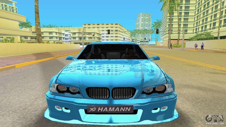 BMW M3 E46 Hamann for GTA Vice City