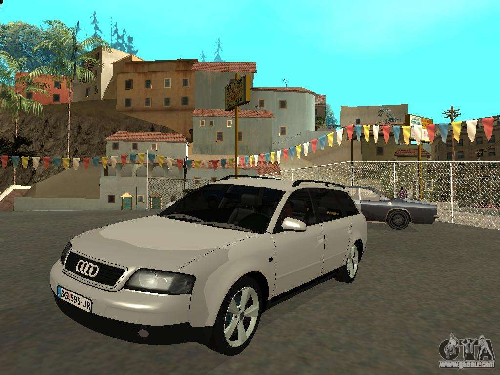 audi a6 c5 avant for gta san andreas. Black Bedroom Furniture Sets. Home Design Ideas