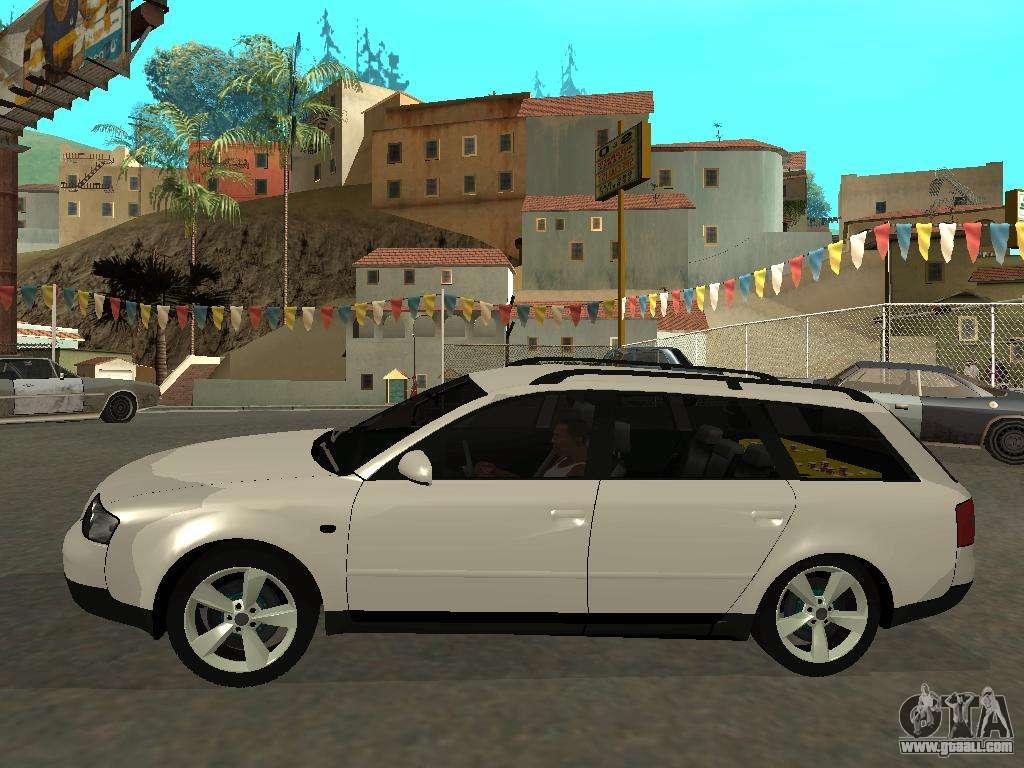 Audi A6 C5 Avant For Gta San Andreas