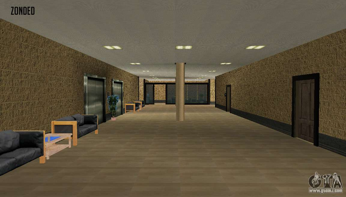 retekstur the interior of city hall for gta san andreas. Black Bedroom Furniture Sets. Home Design Ideas