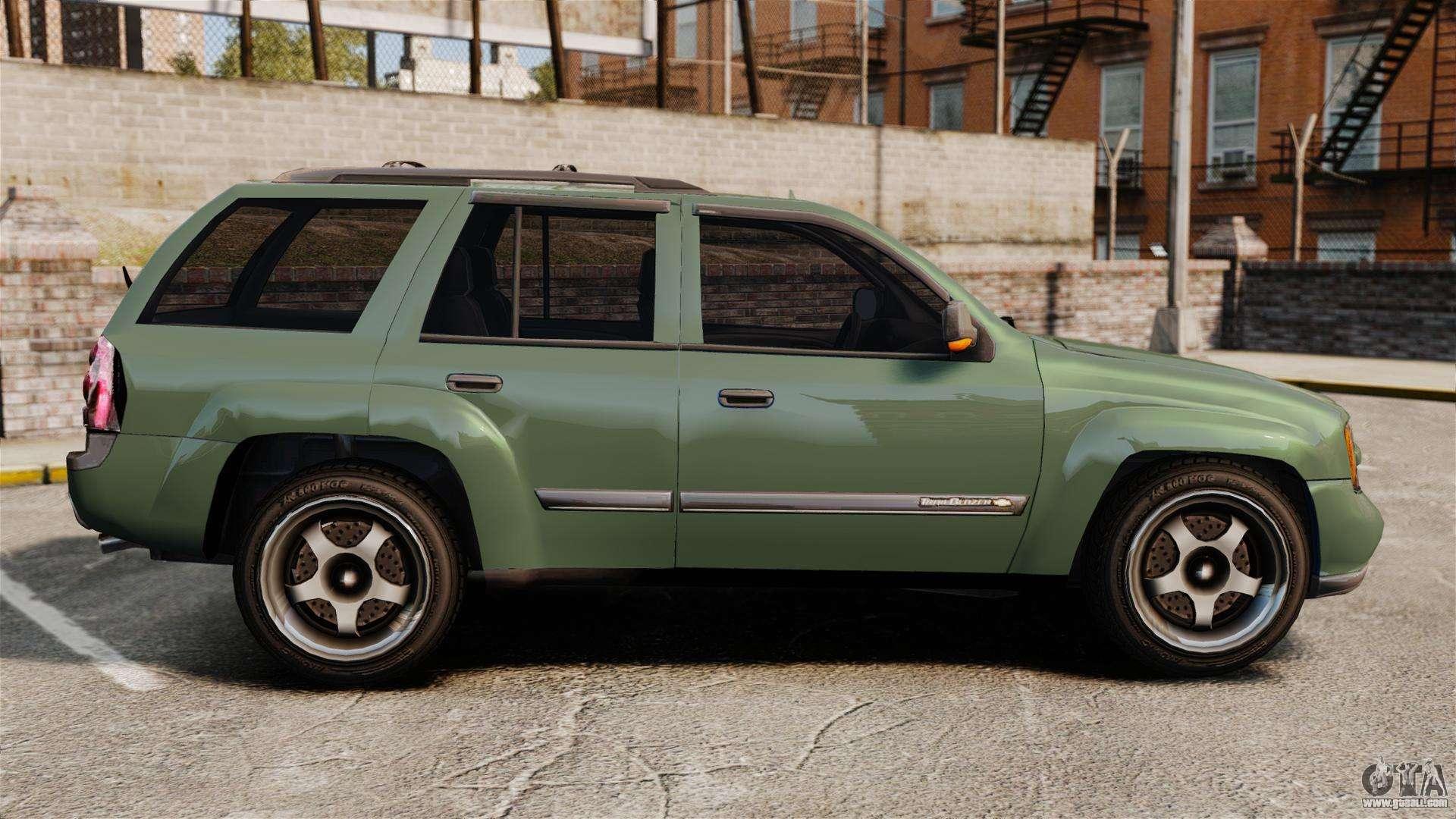 Chevrolet TrailBlazer SS 2008 for GTA 4