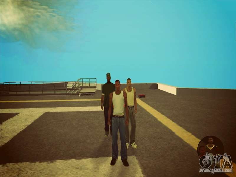Switching between characters as in GTA V 2 0 for GTA San Andreas