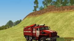 Ural 4320 Firefighter