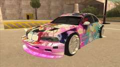 BMW M3 E46 GTR Golden Time Itasha for GTA San Andreas