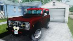 Ford Bronco 1966 for GTA San Andreas