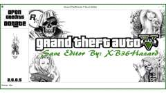 Grand Theft Auto V Save Editor by XB36Hazard