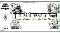 Grand Theft Auto V Save Editor by XB36Hazard