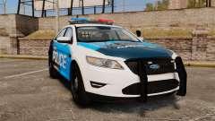 Ford Taurus 2010 Police Interceptor Detroit for GTA 4