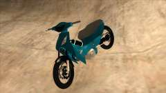Honda 125cc Tuning for GTA San Andreas