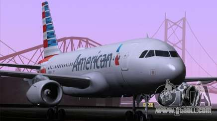 Airbus A319-112 American Airlines for GTA San Andreas